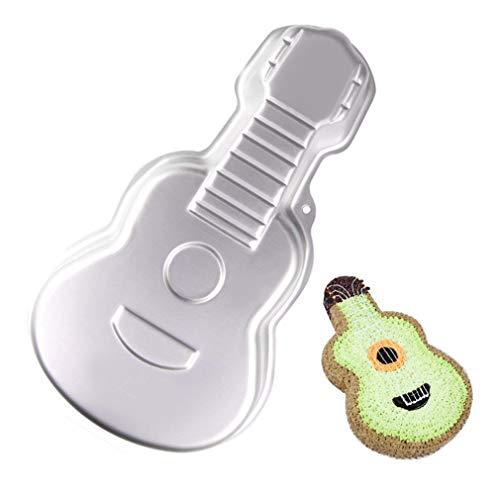 Aluminium Backform 3D Gitarre Form Backform DIY Geburtstag Kuchenform Küche Liefert