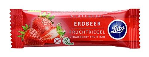 Lubs Erdbeer-Fruchtschnitte (30 g) - Bio