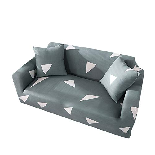 Yunchengyunxiangtong Stretch Couch All-Inclusive-Universal-Anti-Rutsch-Kombination Sofa-Abdeckung Geometrisches Dreieck Sofa-Abdeckung (Size : Triple)