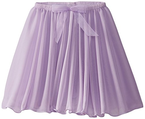 Capezio girls Pull On Circular Skirt, Lavender, Small (4-5)