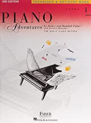 Piano Lessons in Cahaba Heights - Faber Level 1 Technique Book
