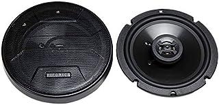 Hifonics ZS65CXS Zeus Coaxial Car Speakers (Black, Pair) – 6.5 Inch Shallow Mount Coaxial Speakers, 300 Watt, 3-Way Car Au... photo
