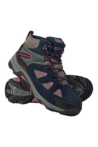 Mountain Warehouse Rapid Womens Waterproof Hiking Boots -Ladies Shoes Berry Womens Shoe Size 8 US