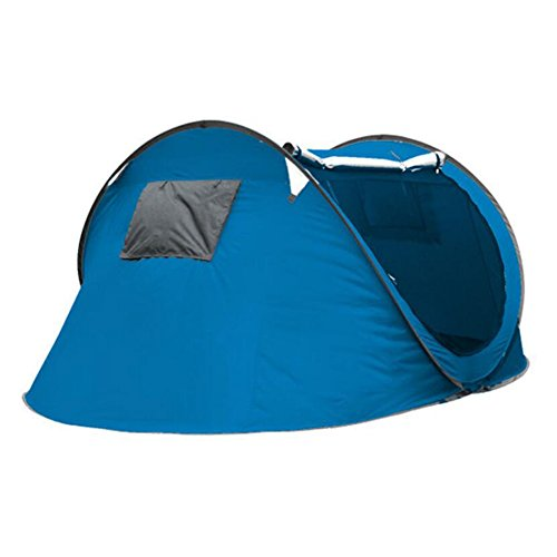 Gaojuan 3-4 Person Dome Tent - Pop Up Camping Tents Best For Outdoor Camp And Backpacking - Lightweight, Anti-UV, Easy Folding Automatic Tents Camping Camping Field Beach Tents (Color : C)