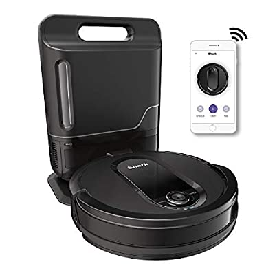 Shark IQ Robot Vacuum with Self Emptying Base, WiFi Home Mapping