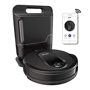 Shark RV1001AE IQ Robot Self-Empty Vacuum with Self-Empty Base, Wi-Fi, Home Mapping