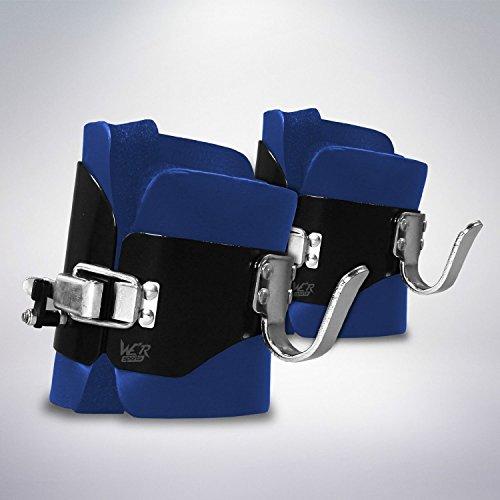 We R Sports gravità Inversione Stivali Pesante Dovere ABS Indietro Stomaco Nucleo Ginnico Palestra Fitness (Blu)