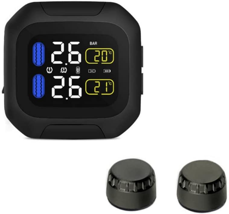 Ehinew Reservation Waterproof Lightning-Proof General Wireless TPMS Motorcyc Max 79% OFF