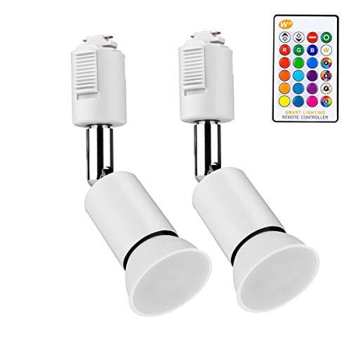 ダクトレールライト 16種類の色 RGB調光対応 5W...