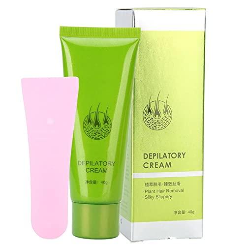 Depilación rápida y eficaz, depilación suave en axilas, agradable para la piel, sin dolor, crema depilatoria para mujeres y hombres, crema depilatoria, depilación depilatoria