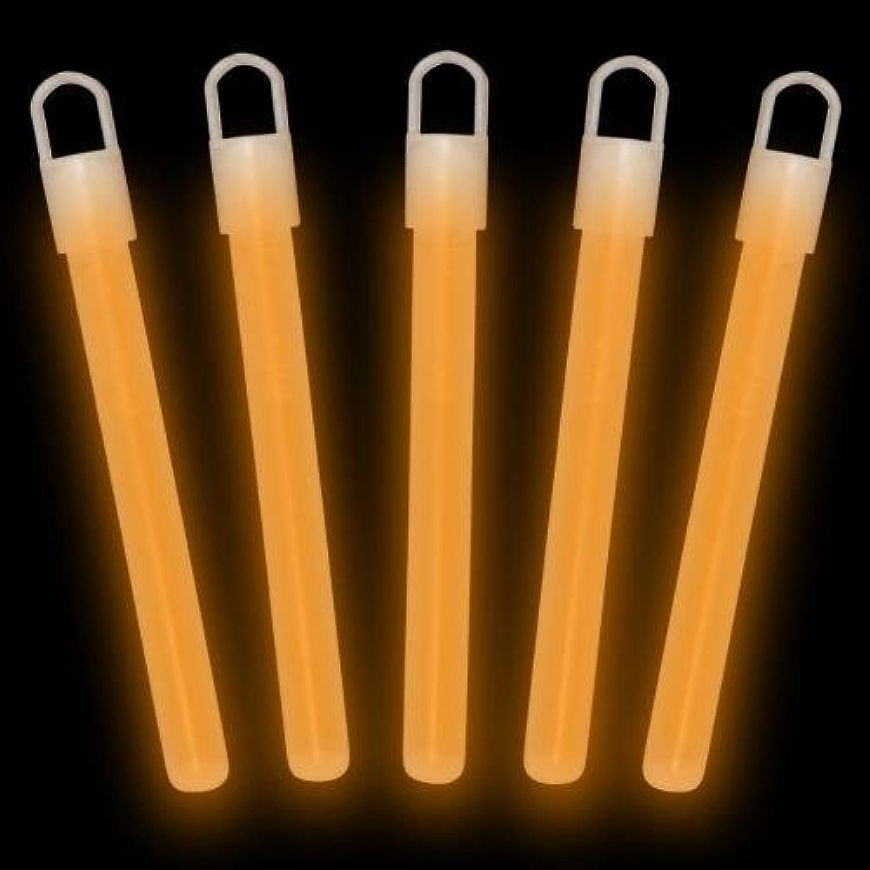 4  Glow Sticks Premium  orange (50Pack)