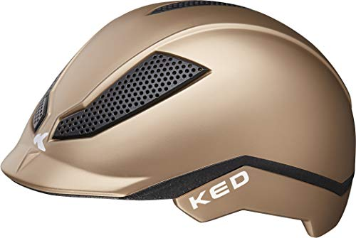 KED Pina Helm Kinder Gold Matte Kopfumfang M | 51-56cm 2020 Fahrradhelm