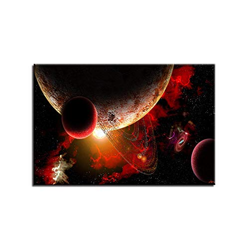 New Creative fire Planet Decoration 5D DIY Diamond Painting,Cross Stitch,5D Diamond Painting Full Drill,Embroidery, Gift, Diamond Painting Kits for 30x40cm