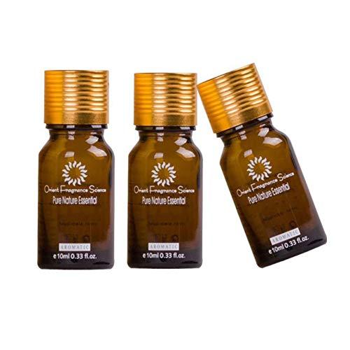 ROMANTIC BEAR Huile essentielle blanchissante pour le visage élimine les taches brunes Éclaircissant blanchiment Anti-âge nourrissante essence (3PCS)