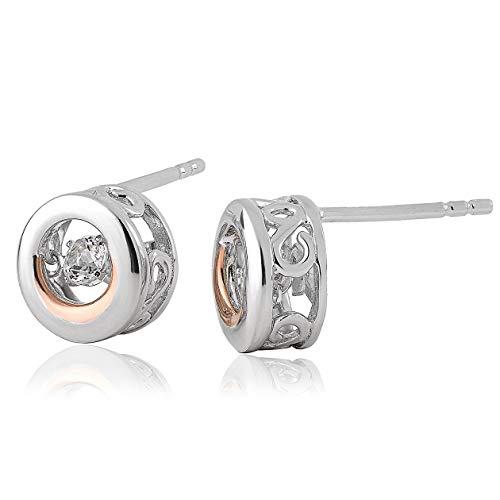 Clogau Women Topaz Stud Earrings 3SWDDE2