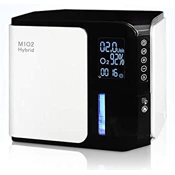 酸素発生器 M1O2-Hybrid(エムワンオーツーハイブリッド) 静音対策モデル 流量2L時に酸素濃度90%(±3) スタイリッシュ&高性能モデル ペット利用可