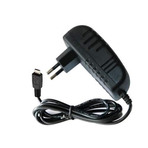 TOP CHARGEUR * Adaptador Cargador Corriente 5V 2A 2000mA Micro USB para Garmin Edge 1000 1030, Edge 520, Edge 820, Edge Explore 820 1000, Zumo 590 595, Camper 760 LMT, Dash CAM 55, Virb 360°