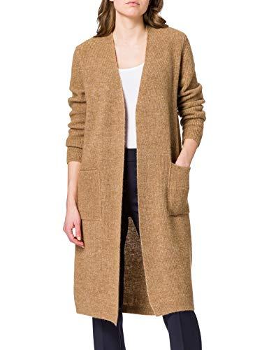 BOSS C_Fariessa 10231429 01 Cardigan Jersey, Beige262, S para Mujer