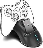 Speedlink BRIDGE USB Charging System - Ladestation inkl. Akkus für Xbox 360 Gamepads für Gaming/Konsole, schwarz