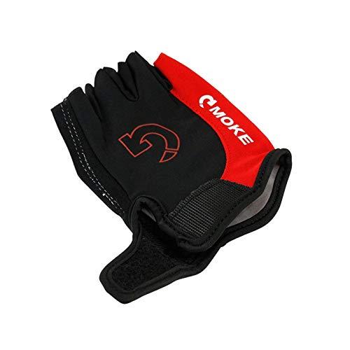 Fingerhandschoenen, uniseks, wielerhandschoenen, sport, halve vinger, anti-slip gel pad motorfiets, racefiets, handschoen, mountainbike handschoenen