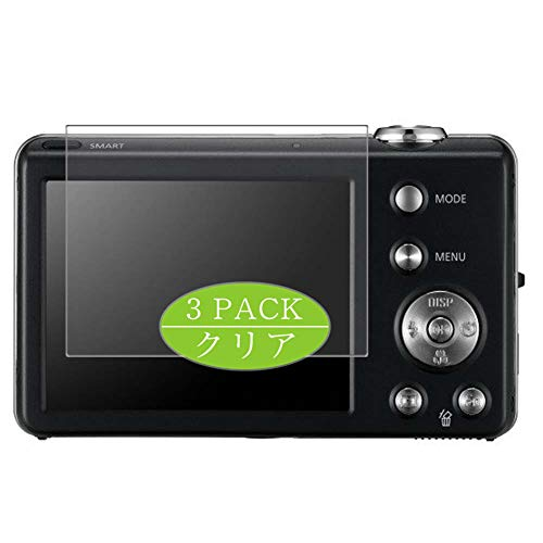 VacFun 3 Piezas HD Claro Protector de Pantalla Compatible con Samsung EC-ST65 Digital Camera, Screen Protector Sin Burbujas Película Protectora (Not Cristal Templado) New Version