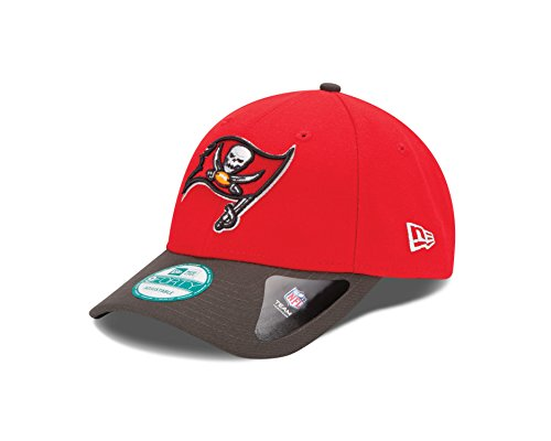 New Era Herren Baseball Cap the League 9Forty Tampa Bay Buccaneers Offical Team Colour, Rot (Red), One size