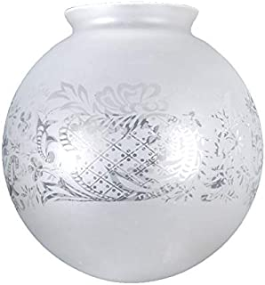 B&P Lamp Supply 3 1/4 Inch Vianne Satin Crystal Filigree