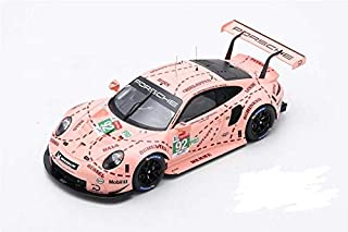 Spark 1:18th Porsche 911 RSR #92 Le Mans 2018 Winner Pink Pig