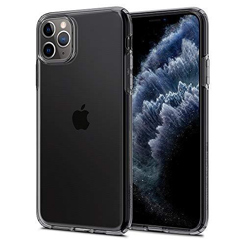 Spigen iPhone 11 ケース 6.1インチ 対応 TPU ソフトケース 耐衝撃 傷防止 レンズ保護 薄型 軽量 Qi充電 ワイヤレス充電 クリア リキッド・クリスタル 075CS27130 (スペース・クリスタル)