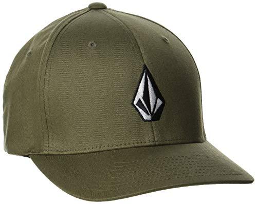 Volcom Full Stone Xfit Gorra de béisbol, Verde Caqui, S/M para Hombre