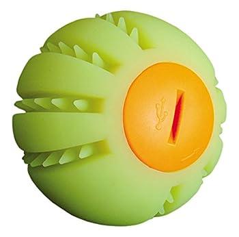 Nobby Flash Ballon en Silicone à LED Jaune 6,5 cm