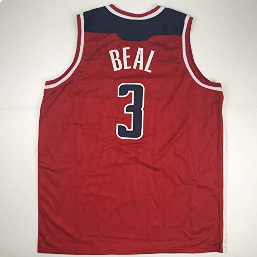 Unsigned Bradley Beal Washington Red Custom Stitched Basketball Jersey Size Men's XL New No Brands/Logos