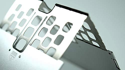 ONEDMajextand人間工学に基づく、世界最薄スタンド(カラー:スペースグレー)MJX200/GRYグレー