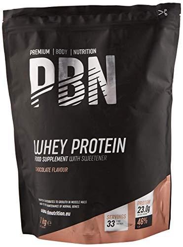 Amfit Nutrition Whey Protein Powder 1kg Chocolate