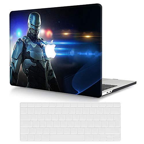 ACJYX - Funda rígida de plástico para MacBook Pro de 16 pulgadas, versión 2020 2019 A2141, carcasa protectora y cubierta de teclado compatible con MacBook Pro 16 con Touch Bar – Ironman