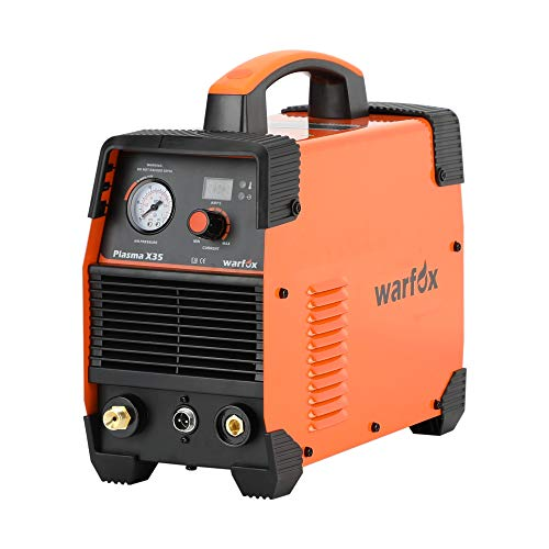 Plasma Cutter, 110 Voltage Plasma X35 Cutting Machine 30Amps Output Current, Clean Cutting Thickness 4mm, Max Cutting Thickness 8mm (Plasma X35 110V, Orange)