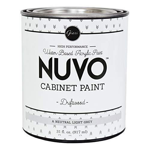 Nuvo Cabinet Paint Quart, 31 fl. oz, Driftwood