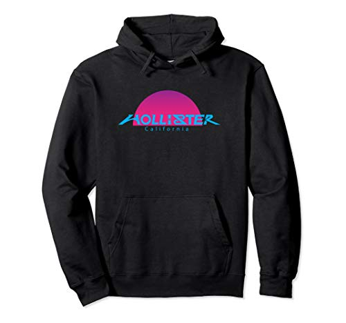 HOLLISTER CA., HOLLISTER CA. SUNSET PURPLE, GIFT, SOUVENIR Pullover Hoodie