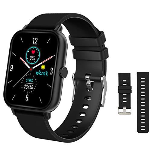 ZYY Smart Watch, Men's y Women's Sports Watch Digital Presión Arterial Oxygen Bluetooth Call SmartWatch A20 Fitness Tracker para iOS Android,C