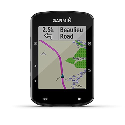 Garmin 520 Edge Plus Ciclocomputer cartografico con GPS, Cycle Map Europa e connettività smart, Display 2.3 ', Impermeabile IPX7, Nero