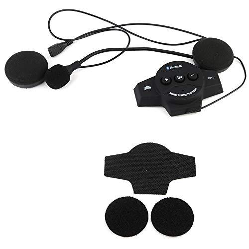 Why Choose Bluetooth, Motorcycle Helmet Bluetooth Headset Speakers Handsfree Music Call Control Earp...