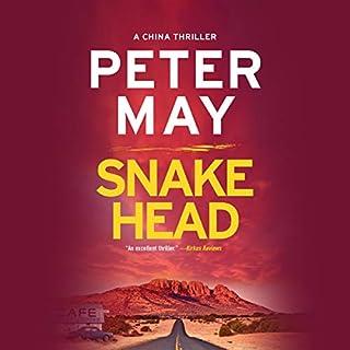 Snakehead audiobook cover art