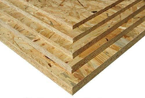 12mm OSB3 36€/m² Grobspanplatte Spanplatte Platten Grobspanplatte OSB Verlegeplatte Holzplatte Feuchtraum-geeignet (125 x 60 cm)