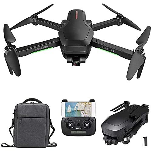 Drone con Fotocamera Pieghevole, Drone GPS 5G WiFi Professionale, Modulo di Alimentazione Ottica + Sistema di Posizionamento del modulo GPS, Fotocamera ad Alta Definizione 4K Quadcopter Pieghevole co