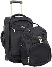 High Sierra AT3 Rolling Backpack, Black, 22-Inch