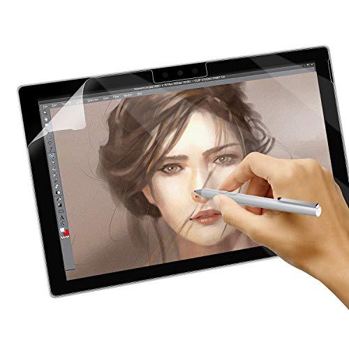 Dadanism Matte Schutzfolie für Surface Pro 6/5/4/LTE, Anti-Fingerabdruck Anti-Reflex wie Papier Displayschutzfolie Bildschirm Folie für Microsoft Surface Pro 6/5/4/LTE Tablet - Transparent