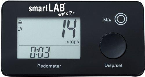 smartLAB Walk P+ Schrittzähler mit Anzeige. Speicher über 35 Tage mit Kalorienverbrauch, Schritte und Distanz. Kann ohne App verwendet Werden. Anweisung ist anbei.