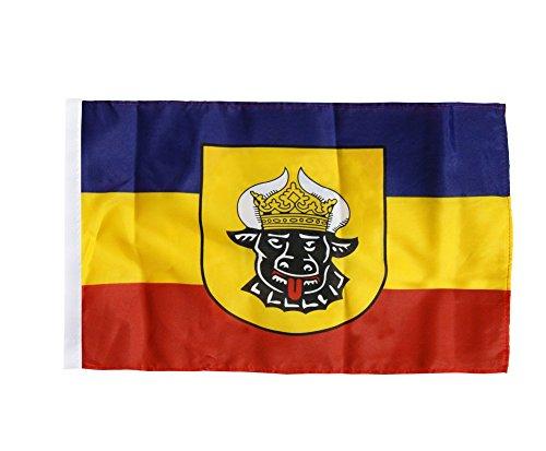 Flaggenfritze® Flagge Deutschland Mecklenburg alt - 30 x 45 cm