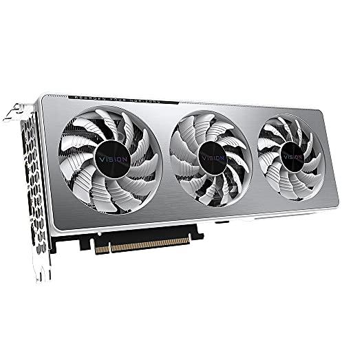 Gigabyte GeForce RTX 3060 Vision OC 12G (Rev. 2.0) NVIDIA 12 GB GDDR6(NO VALIDO para MINERIA)