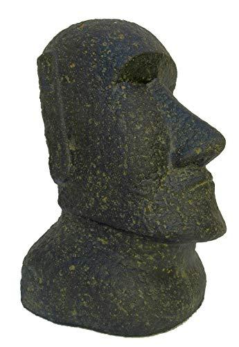 STONE art & more Moai, Osterinsel-Kopf, 30 cm, Steinfigur, Steinguss, frostfest